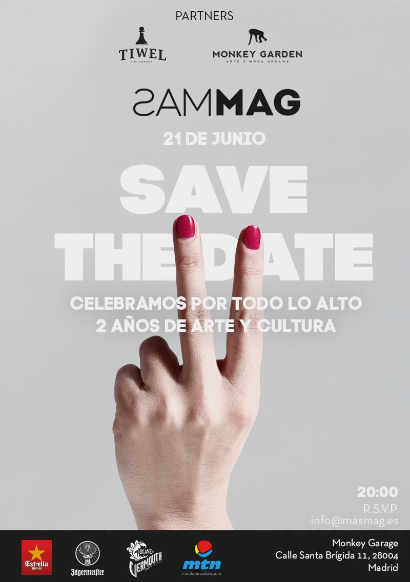 SAVEtheDATE masmag tiwel