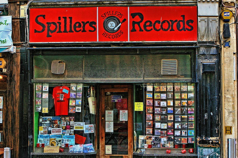 Spillers Records Cardiff