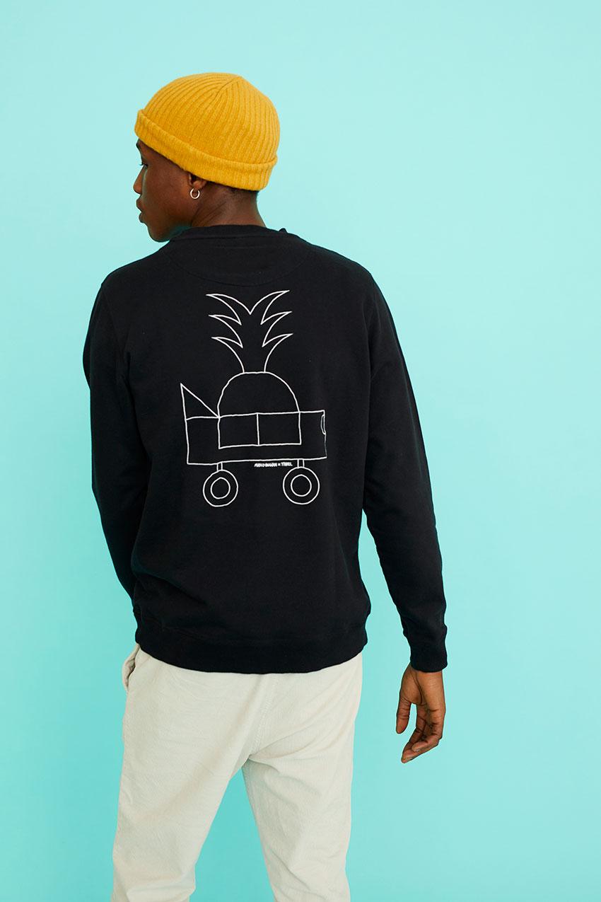 Black Car Sweatshirt Oggian 07