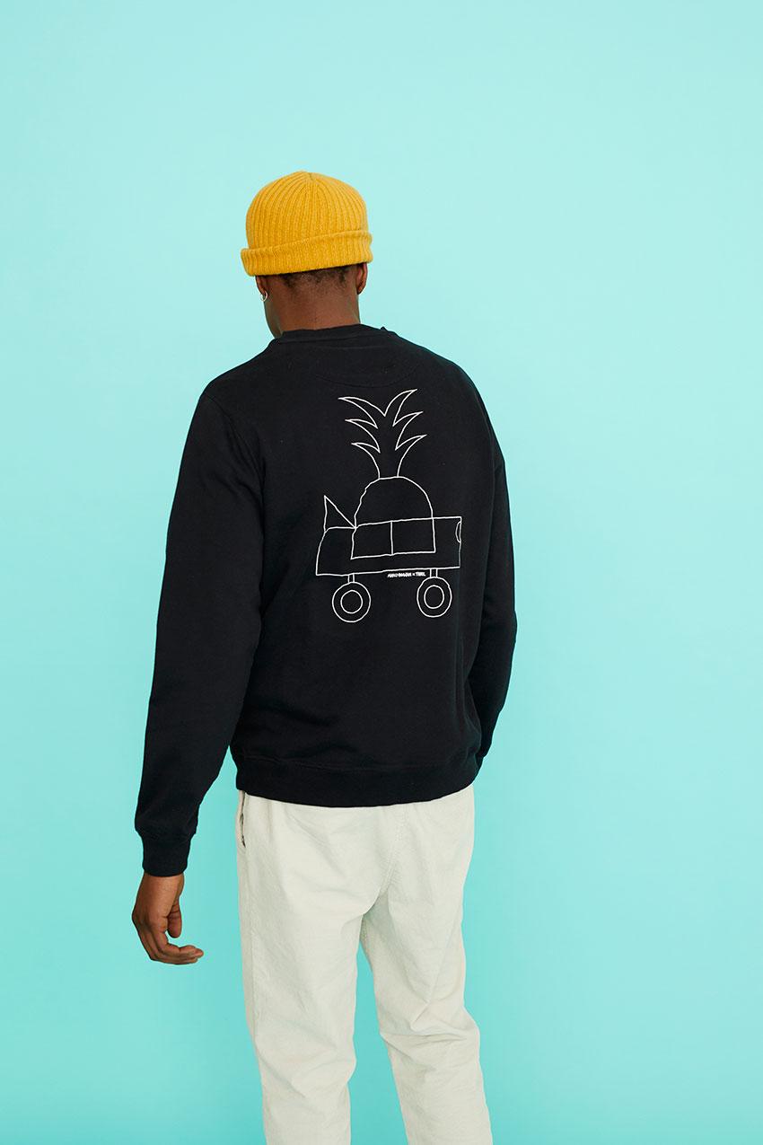 Black Car Sweatshirt Oggian 09