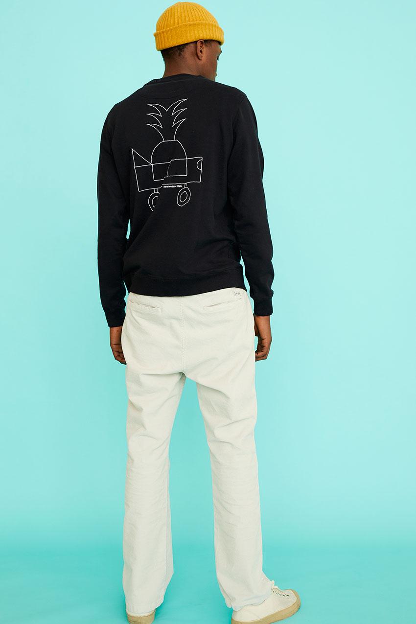 Black Car Sweatshirt Oggian 10
