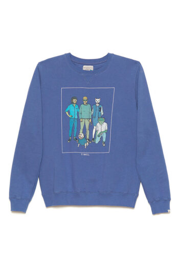 Sudadera Fab-5 David Sanchez Brigade Blue 01