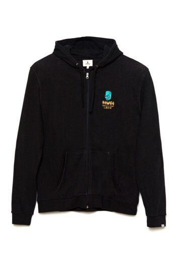 Sudadera Iguana Pirate Black Melange 01