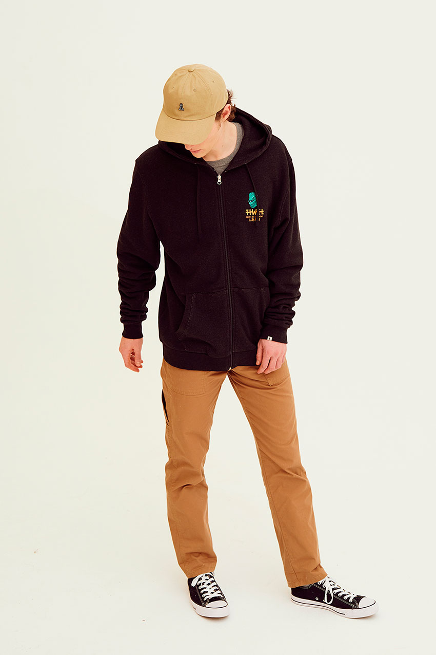 Sudadera Iguana Pirate Black Melange 11