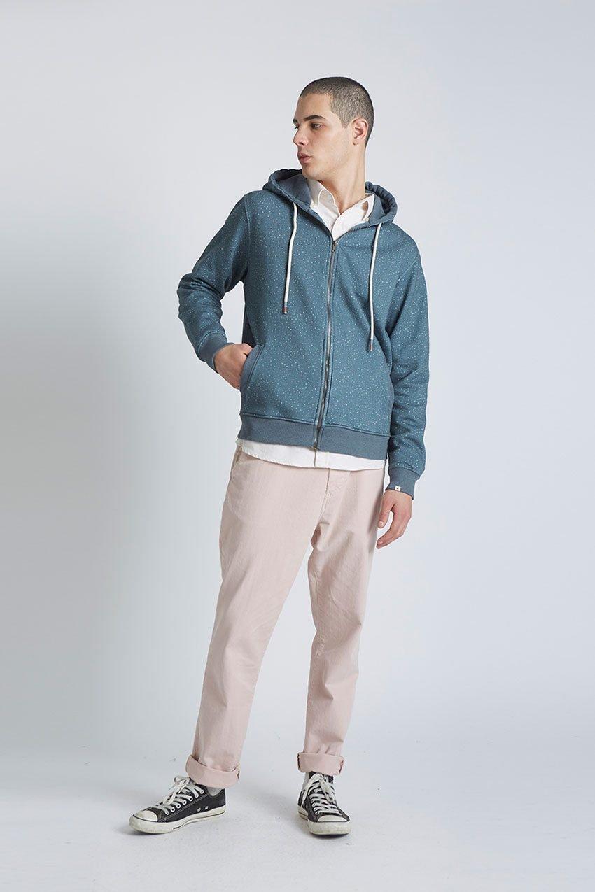 Jack Sweatshirt Tiwel Dark Graphite Melange 01