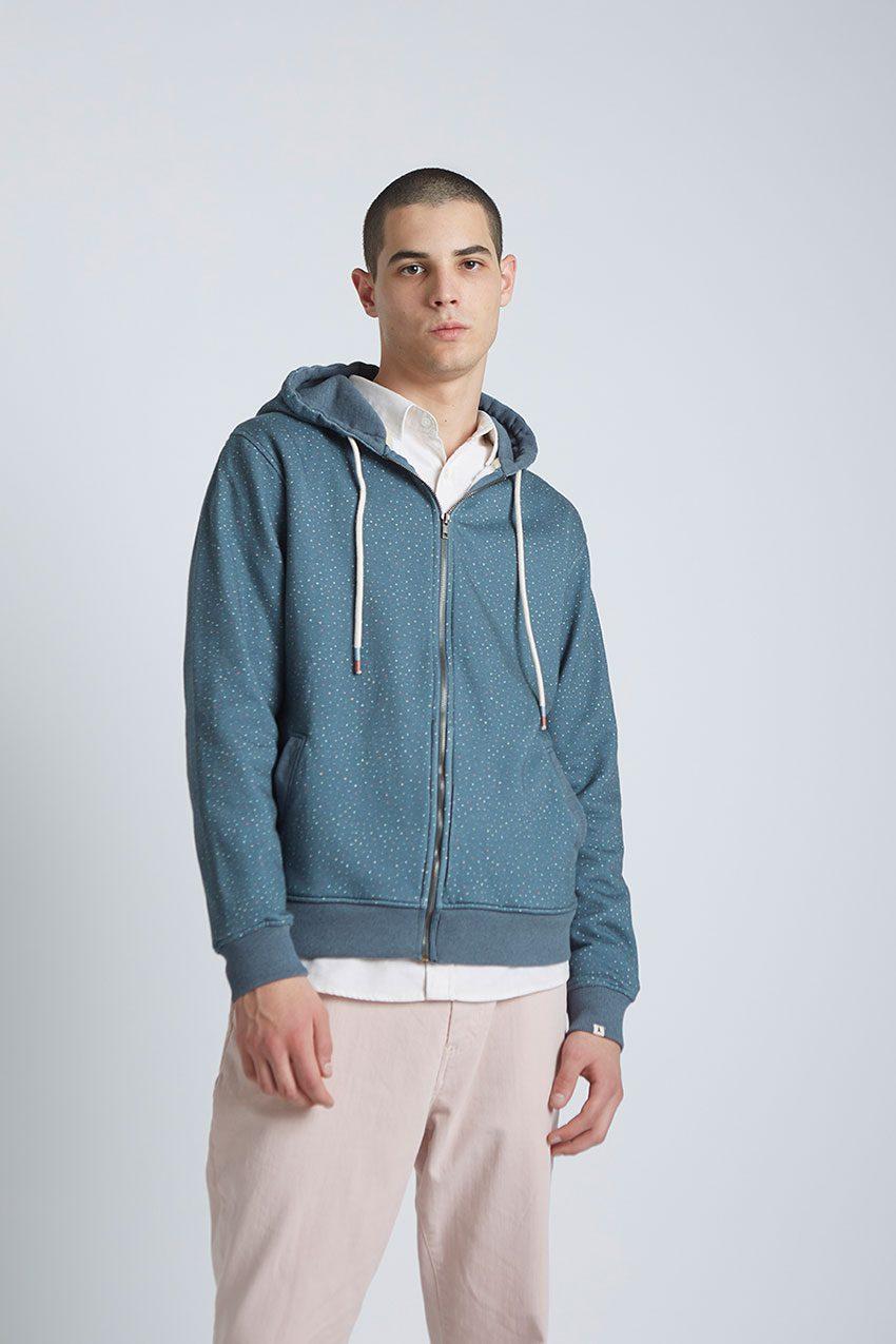 Jack Sweatshirt Tiwel Dark Graphite Melange 02
