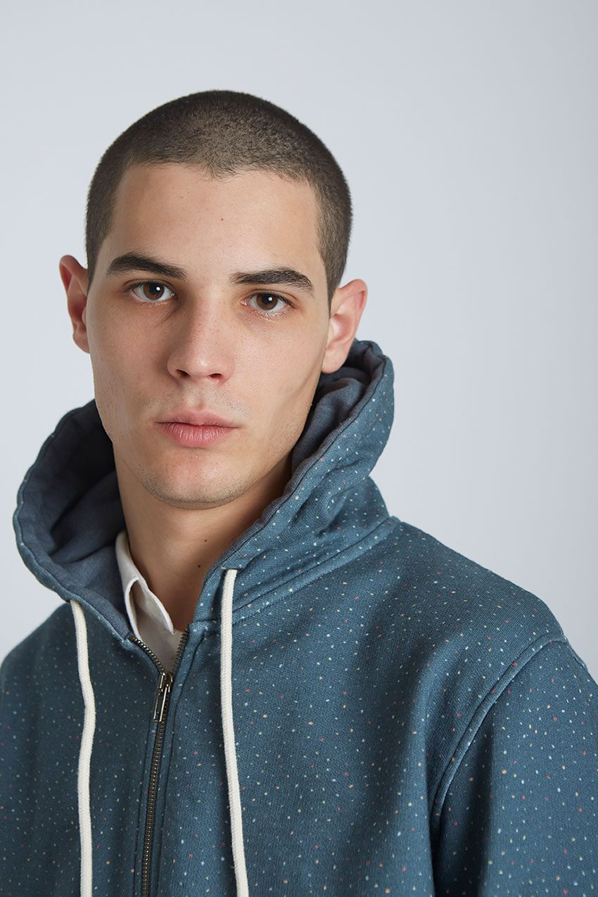 Jack Sweatshirt Tiwel Dark Graphite Melange 06