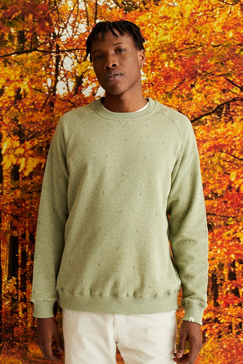 Peones Sweatshirt Ivy Green 03