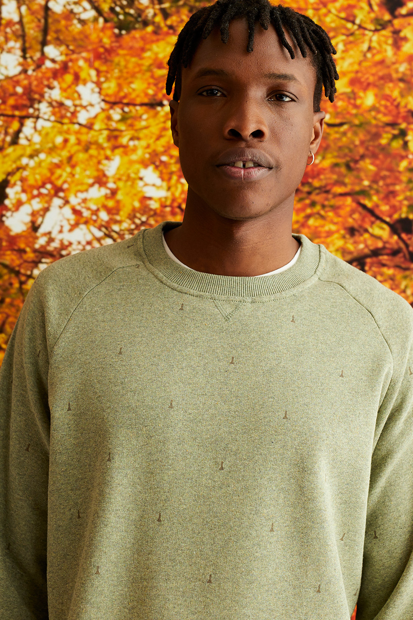 Peones Sweatshirt Ivy Green 04