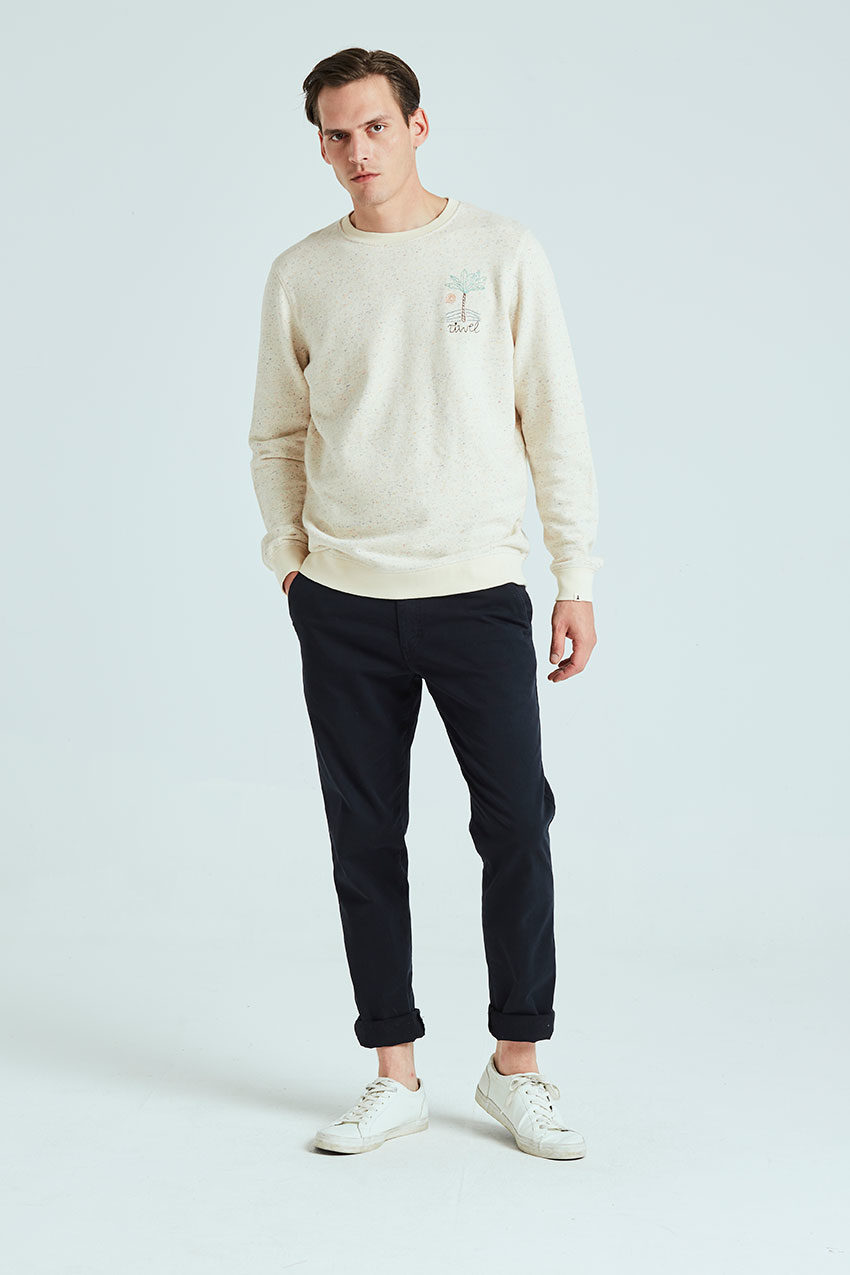 Sweat Palm Sweatshirt Tiwel off white 01