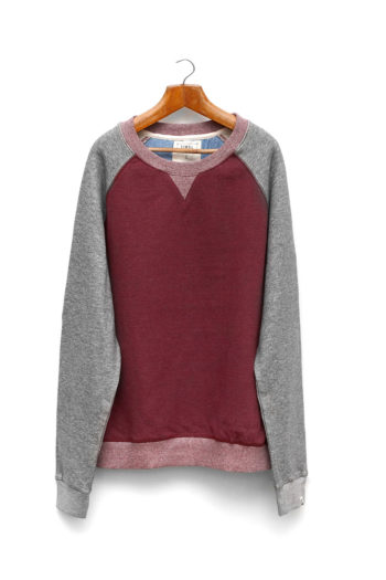 Sudadera Wave Burgundy Vigore