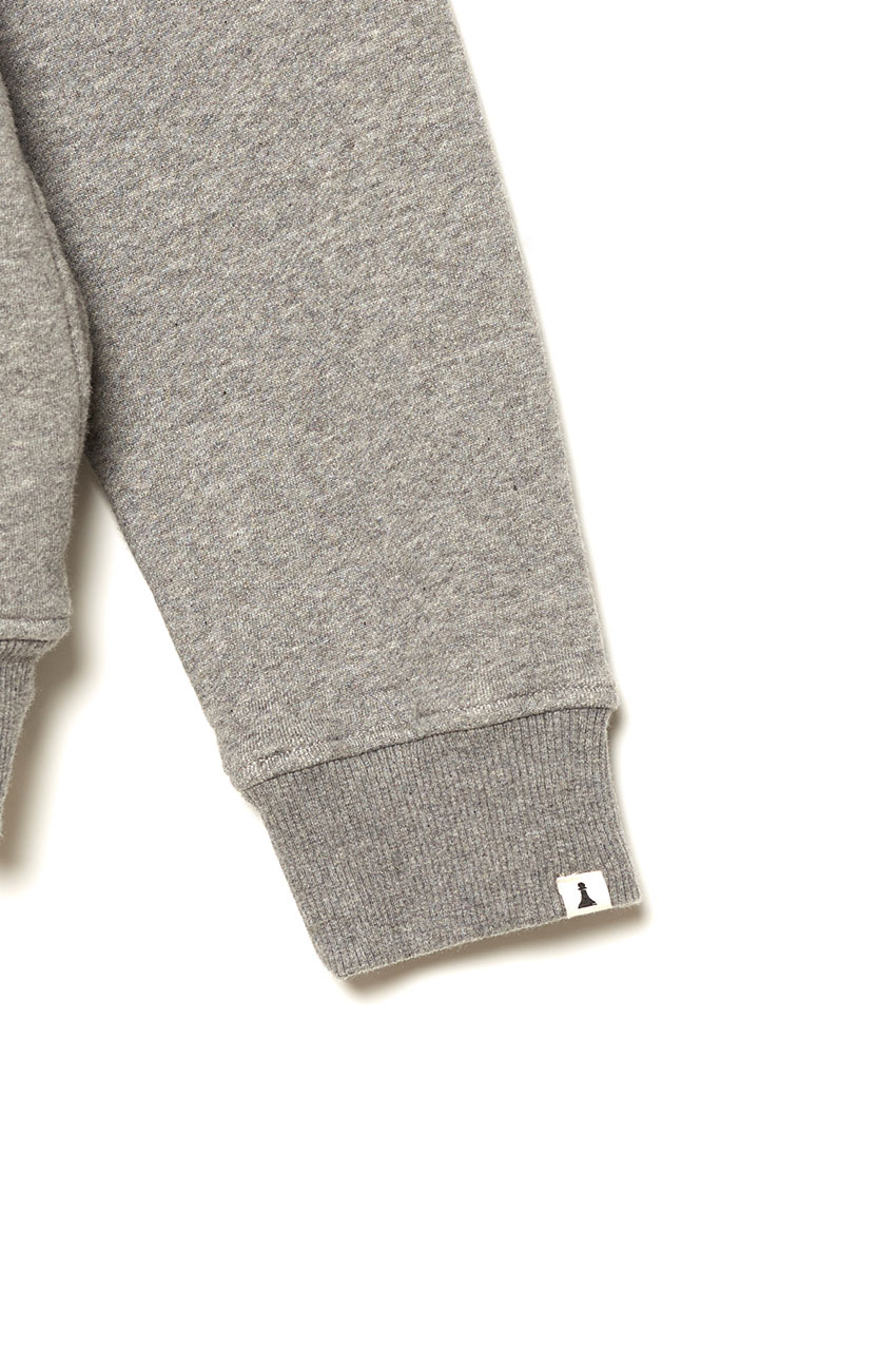Sudadera Wolks David Sanchez Mid Grey Melange 04