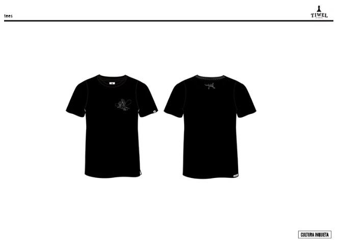 Taquen camiseta Tiwel By Cultura Inquieta