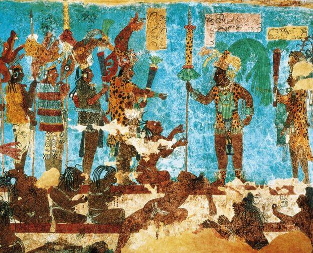 azul maya pigmento origen