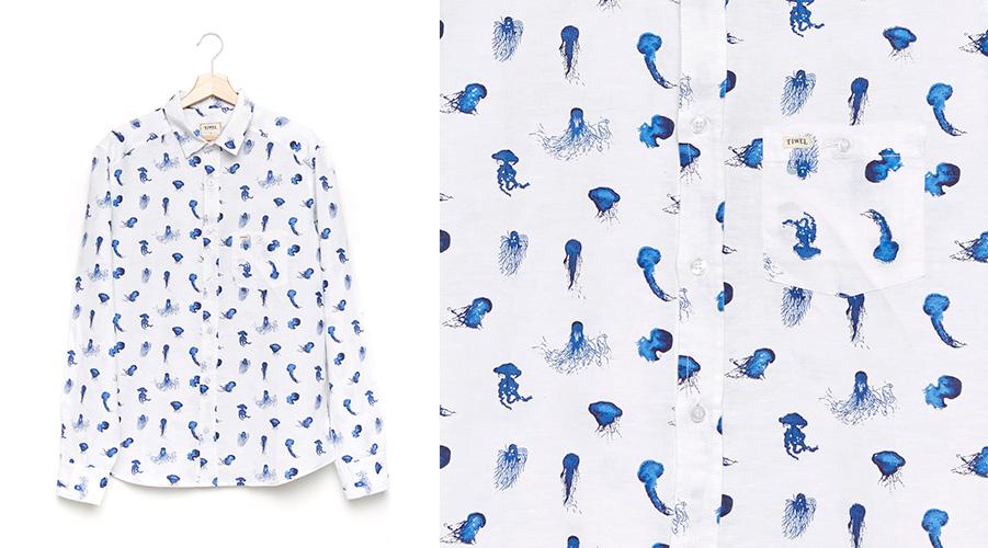 camisa tiwel medusas Scifo