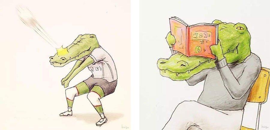 cocodrilo-Keigo-japones-ilustracion-humor-dibujo-02