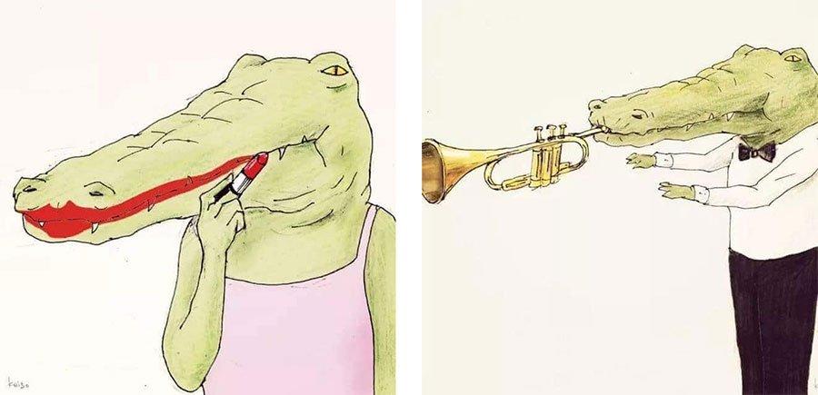 cocodrilo-Keigo-japones-ilustracion-humor-dibujo-03