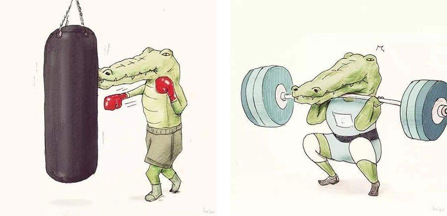 cocodrilo-Keigo-japones-ilustracion-humor-dibujo-05