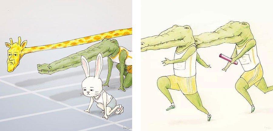 cocodrilo-Keigo-japones-ilustracion-humor-dibujo-06