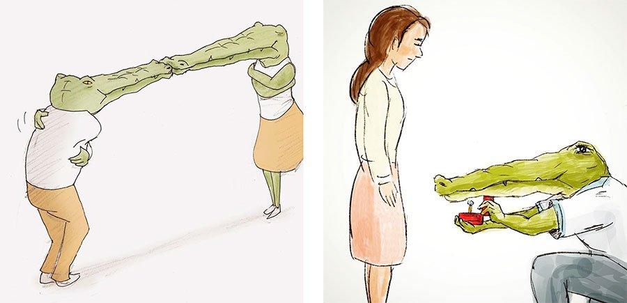 cocodrilo-Keigo-japones-ilustracion-humor-dibujo-08