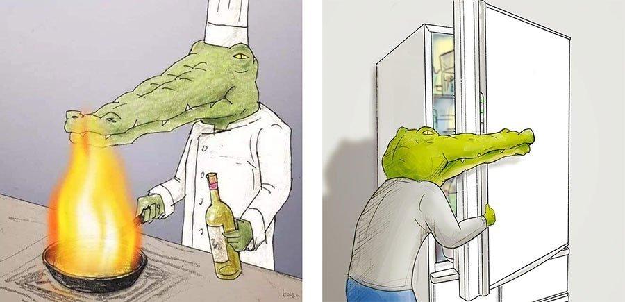 cocodrilo-Keigo-japones-ilustracion-humor-dibujo-09