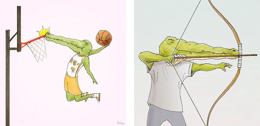 cocodrilo-Keigo-japones-ilustracion-humor-dibujo-10