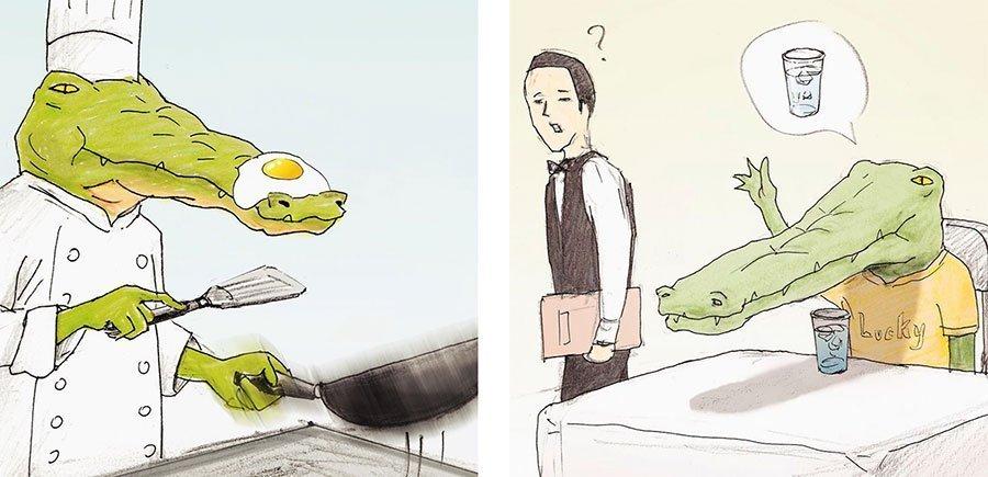 cocodrilo-Keigo-japones-ilustracion-humor-dibujo-15