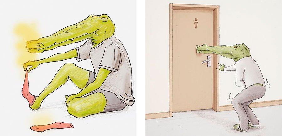 cocodrilo-Keigo-japones-ilustracion-humor-dibujo-19