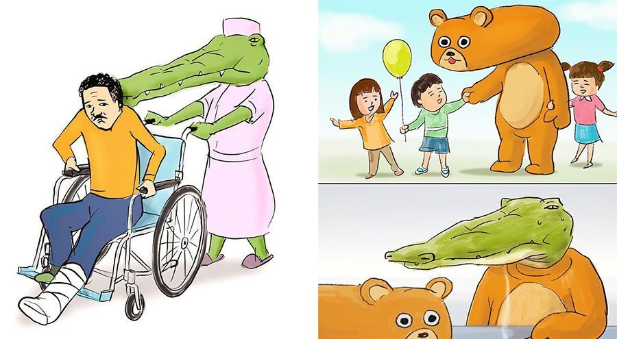 cocodrilo-Keigo-japones-ilustracion-humor-dibujo-20