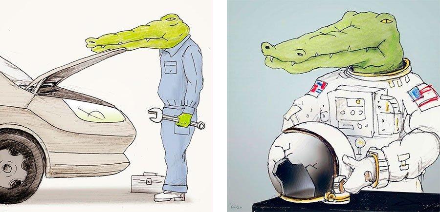 cocodrilo-Keigo-japones-ilustracion-humor-dibujo-22