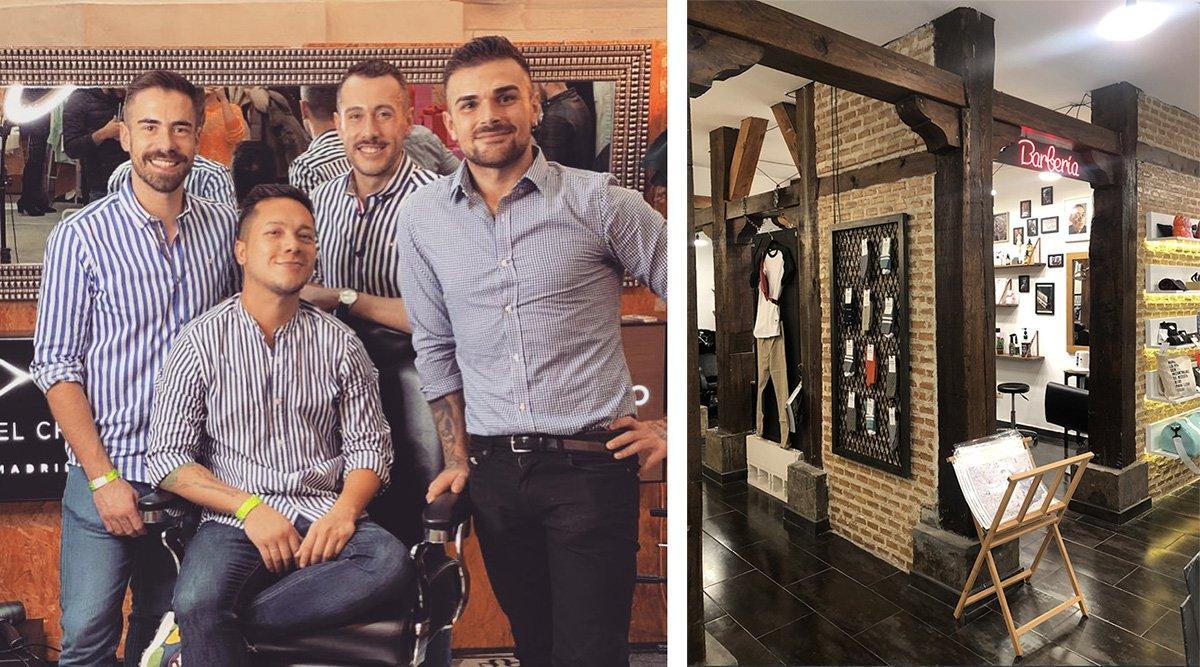 el senorito barberia malasana madrid