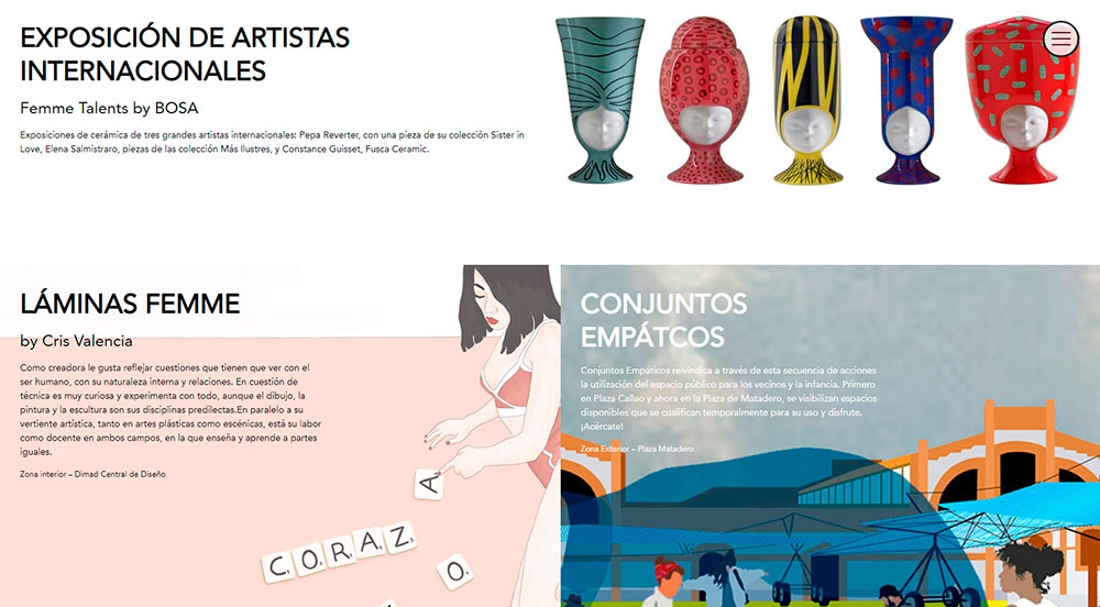 exposicion artistas mercado de diseno Femme Creators
