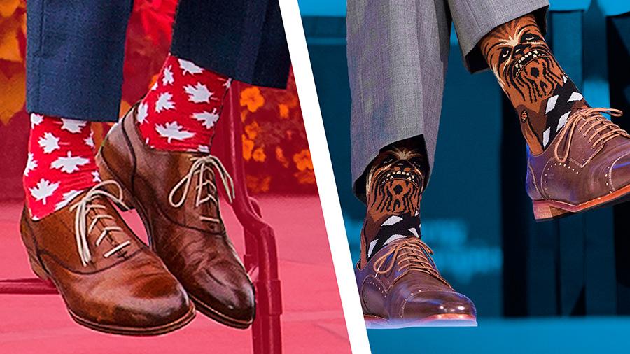justin trudeau calcetines socks