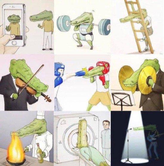 keigo cocodrilo artista japones