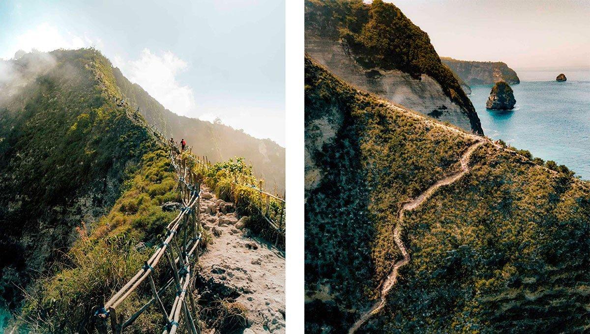 kelingking nusa penida trekking