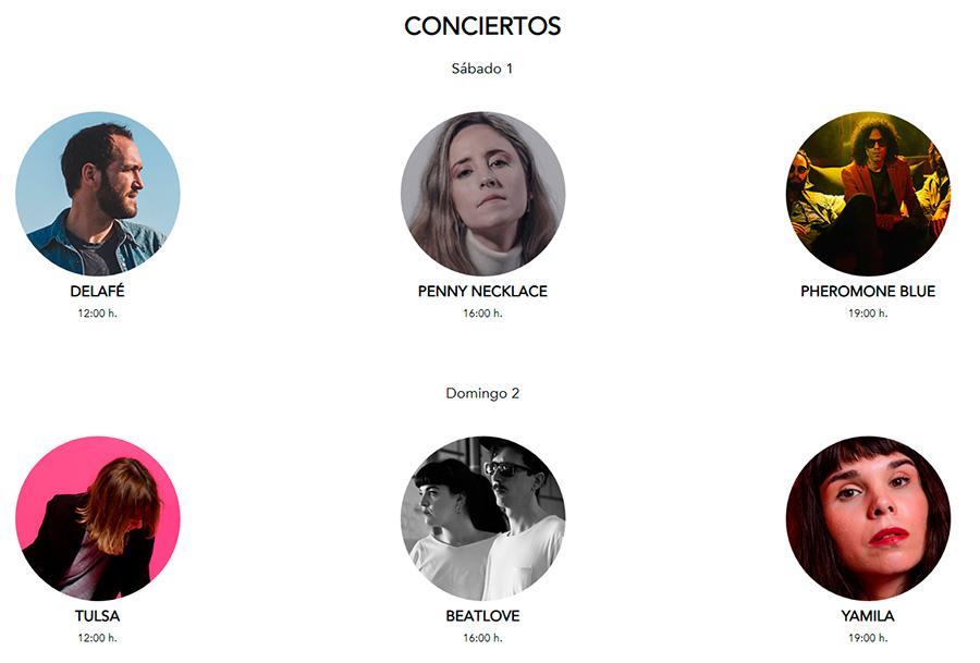 mercado de diseño conciertos summeredition