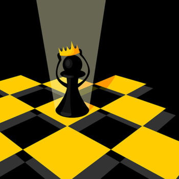 pawn-king-gold