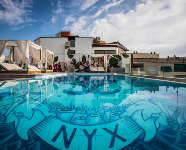 piscina nyx madrid hotel
