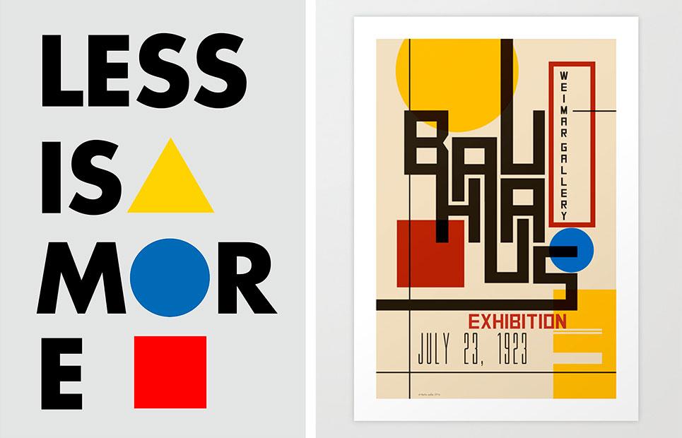 poster-bauhaus design