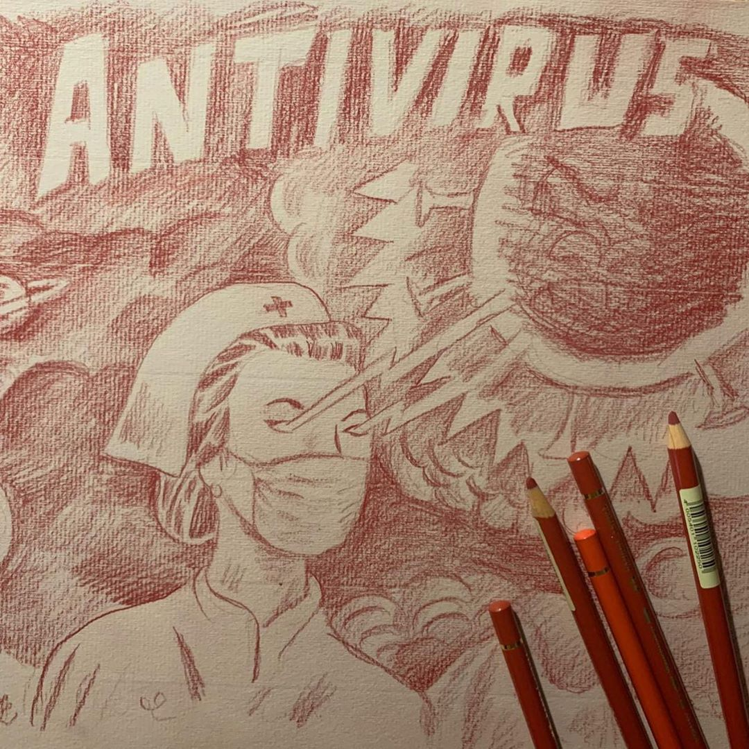 sergio mora coronavirus cruz roja artistas