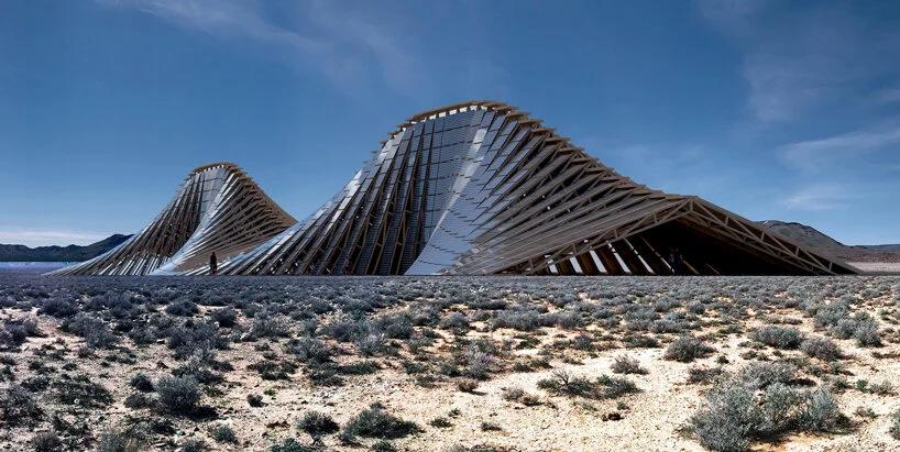 solar mountain architecture burning man 01