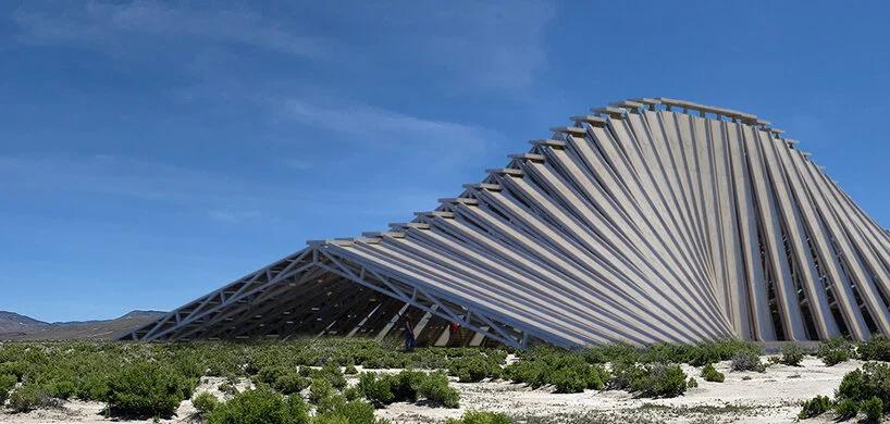 solar mountain architecture burning man 02