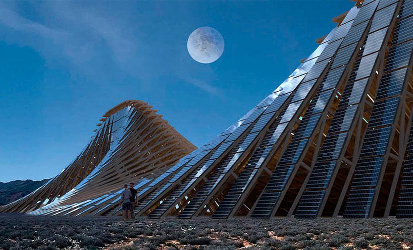 solar mountain architecture burning man 04