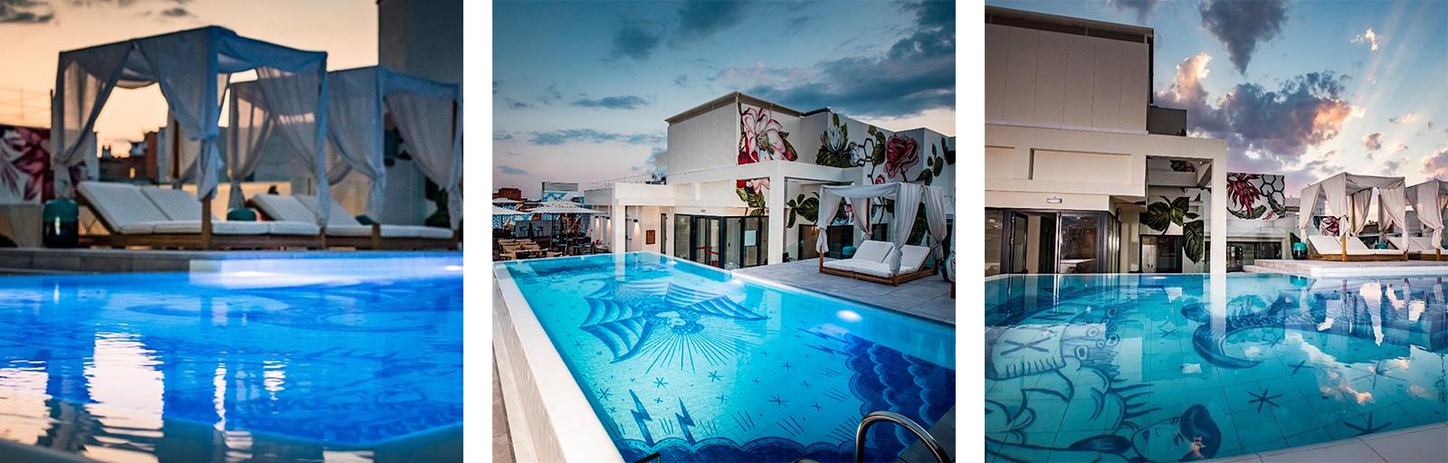 terraza piscina madrid nyx hotel